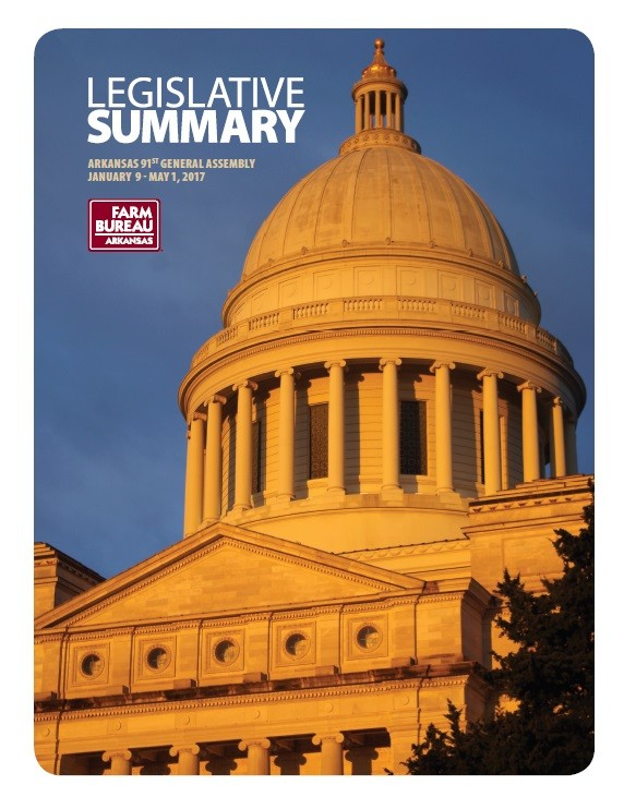 Legislative Summary book cover and link