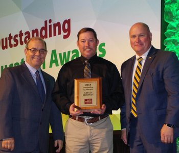 Clinton teacher is Farm Bureau's Outstanding Ag Educator