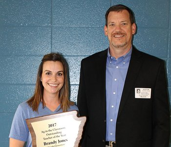 Fort Smith's Jones Named Outstanding Teacher