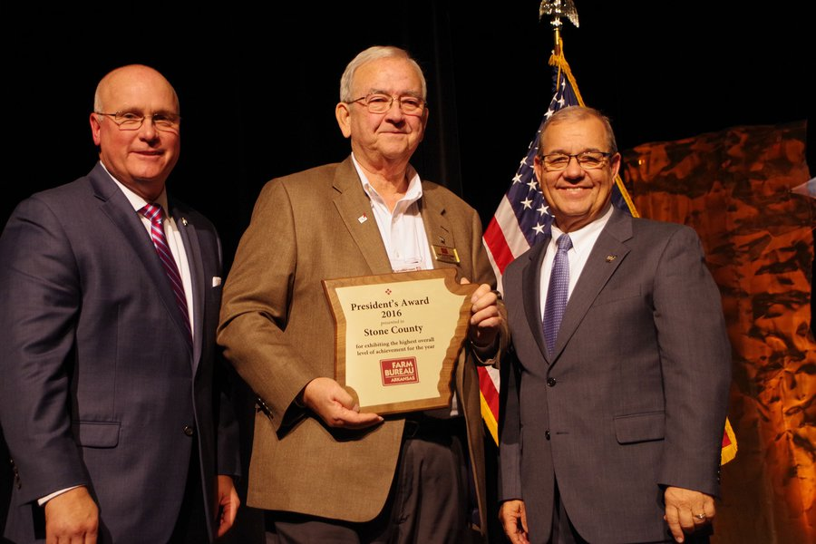 Stone is top Farm Bureau county this year