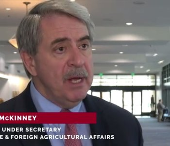 VIDEO: USDA's McKinney Talks Trade Troubles, Deals