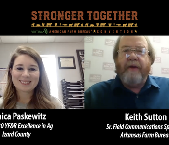 VIDEO: AFBF Virtual YF&R Competitions | Monica Paskewitz, Excellence in Ag Competitor