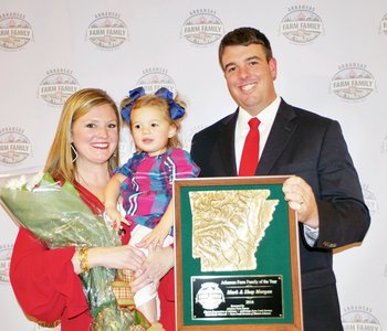 Morgan Family named Arkansas Farm Family of the Year