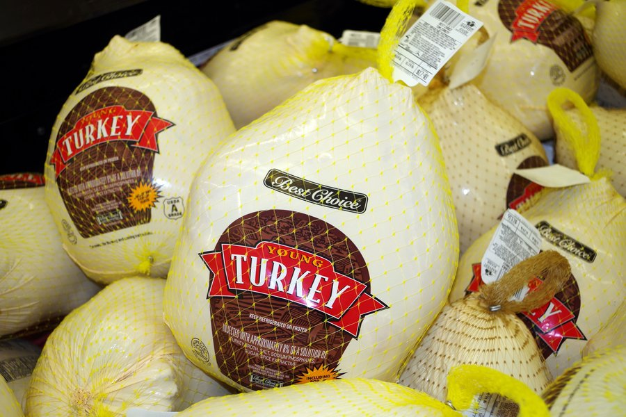 Survey: Thanksgiving Feast Cost Down Slightly