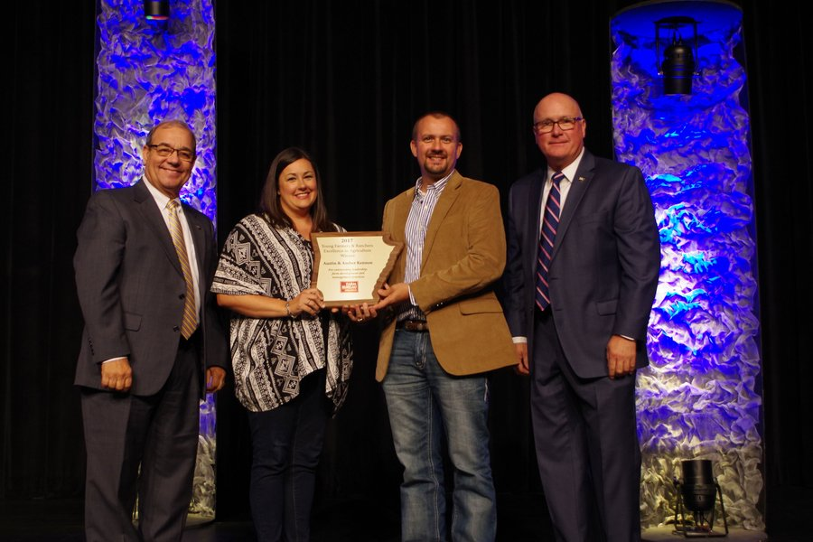 College Roommates Win Top Young Farmer Awards