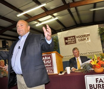 VIDEO: American Farm Bureau President Zippy Duvall Visits Arkansas